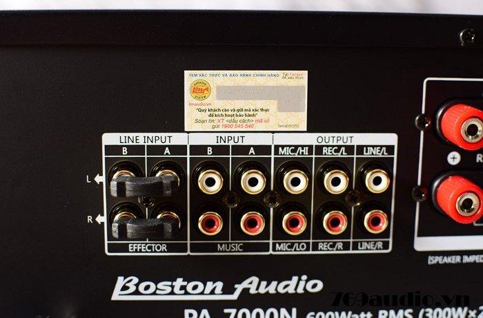 Mặt sau BOSTON 7000