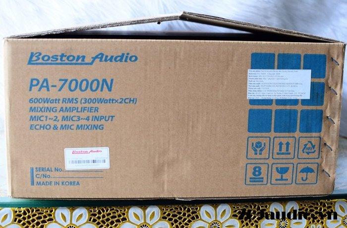 Thùng BOSTON 7000 N
