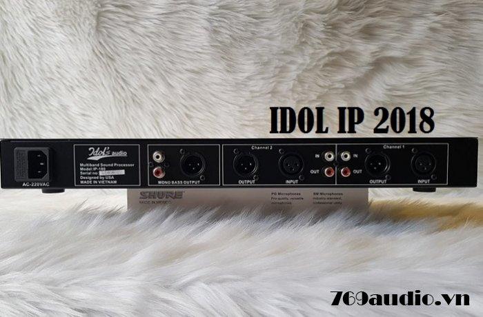 mặt sau idol ip 100 năm 2018
