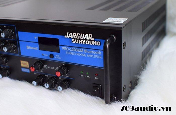 mặt bên Jarguar pro 1203 km