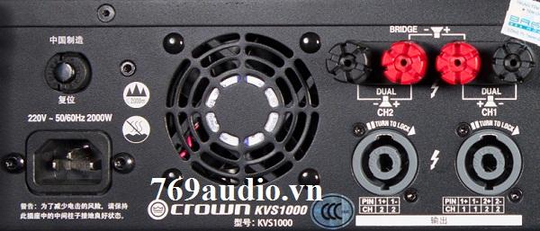 main crown kvs 1000
