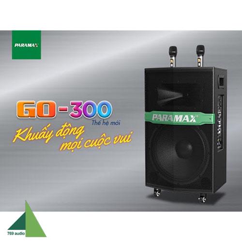 loa di dộng paramax 300 new