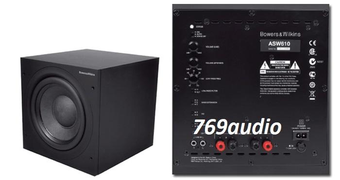 mặt sau Loa Sub B&W ASW 610XP
