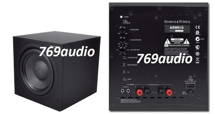 mặt sau Loa Sub B&W ASW 610