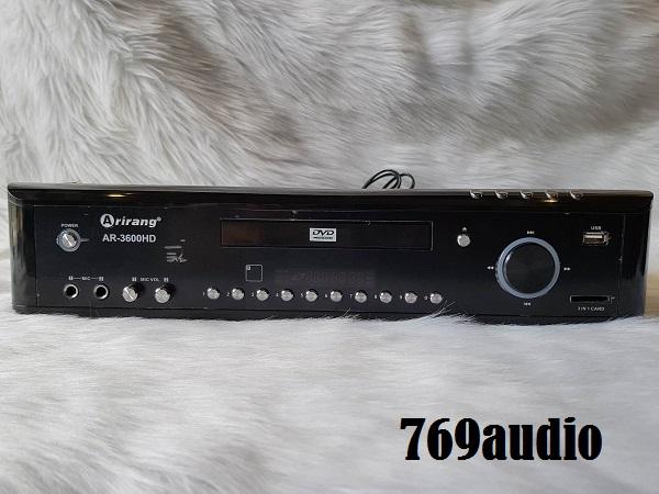 MẶT TRƯỚC AR3600HD