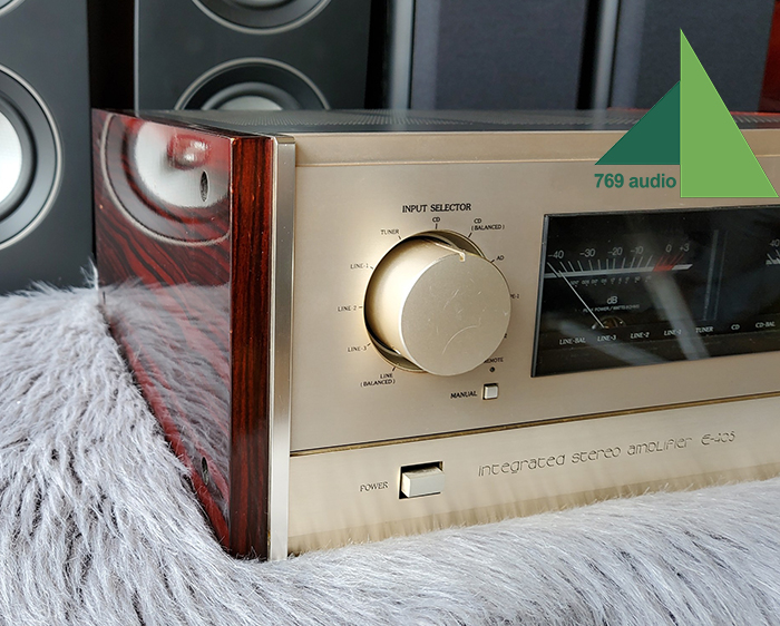 amply accuphase e405