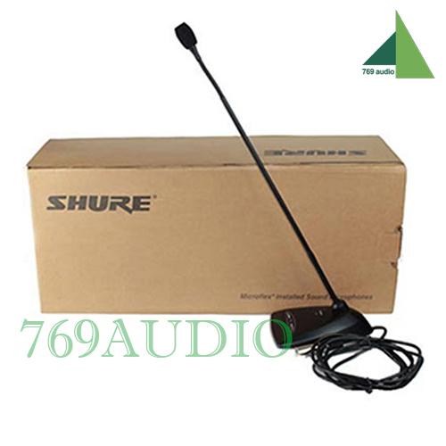 Micro cỗ ngỗng shure mx 418 dc chính hãng