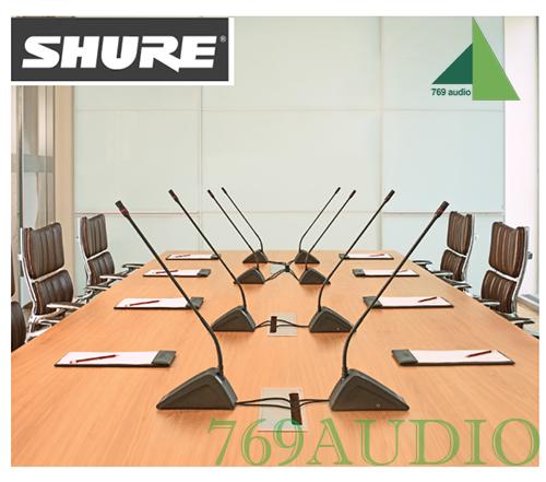 micro hội nghị shure mx 418 dc
