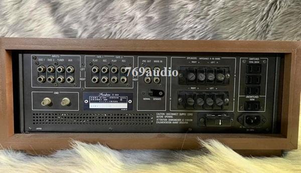 ampli Accuphase 303x  ghép với loa nào