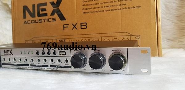 mẩu mixer vang số nex fx8 chính hãng giá rẽ hcm