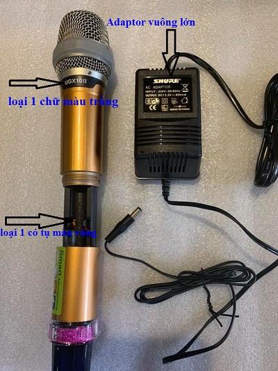 bộ phận micro shure ugx10 ii loại 1