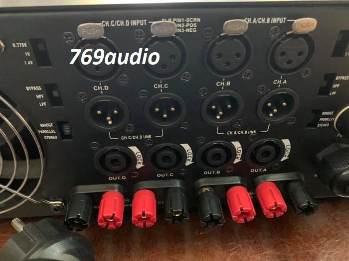 mặt sau cục đẩy 4 kênh aeepo gold-7070