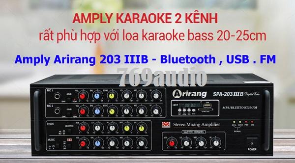 Ampli Arirang 203III B
