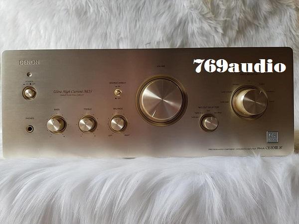 Mặt trước Ampli Denon QS 10III Limited