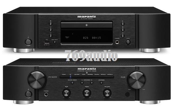 Ampli Marantz PM6006 và đầu CD Marantz 6006
