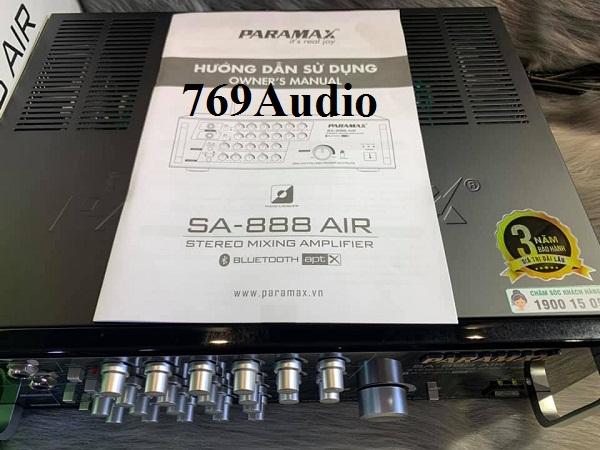 giá paramax 888 air