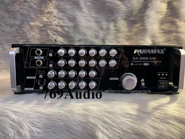 cách chỉnh ampli paramax sa-888 air