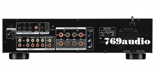 Mặt sau Ampli Denon 800NE