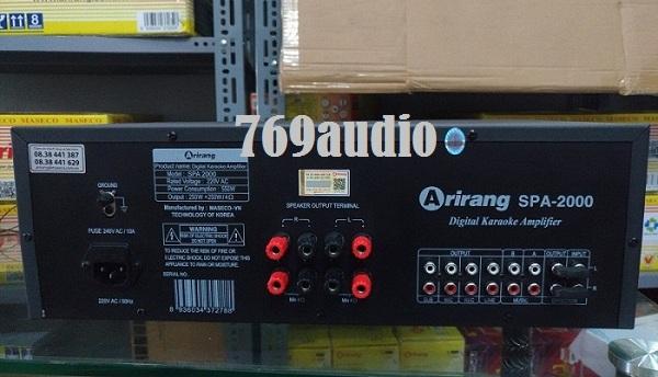 Arirang SPA 2000