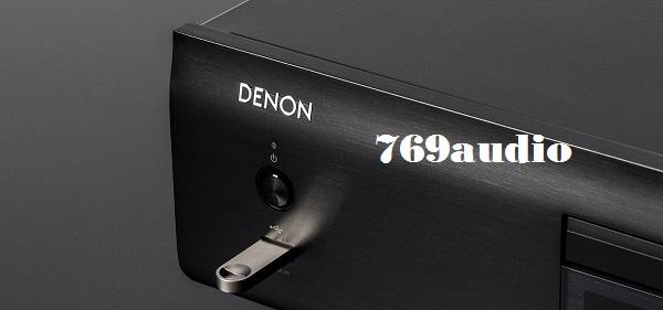 Ngõ USB đầu CD Denon DCD-800NEBK