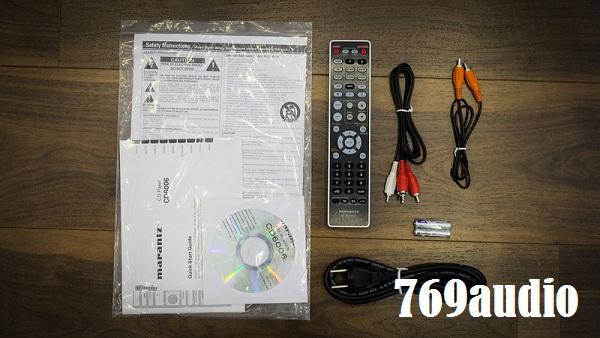 Phụ kiện CD Marantz 6006
