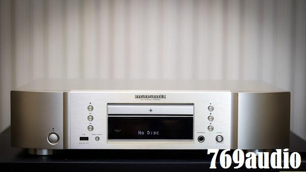mặt trước đầu CD Marantz 6006