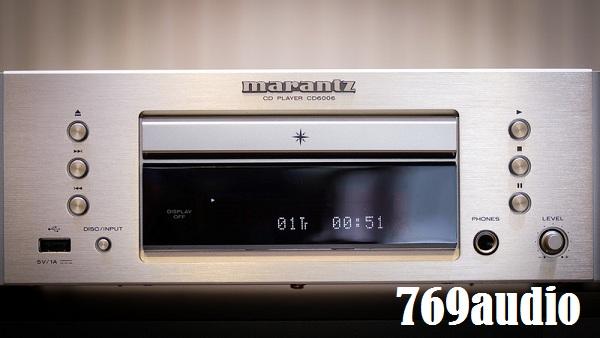 Tổng quát đầu CD Marantz 6006