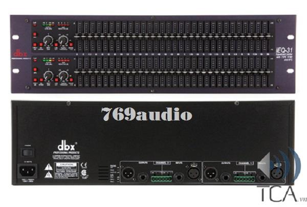 DBX equalizer ieQ31