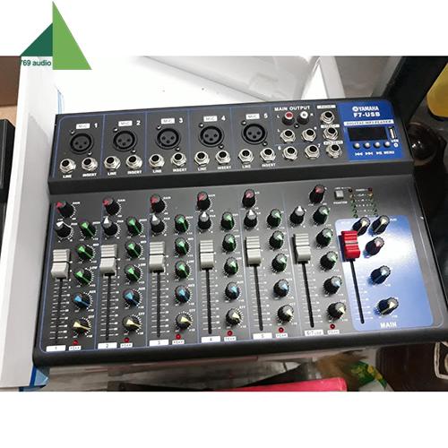 mixer yamaha f7 7 line