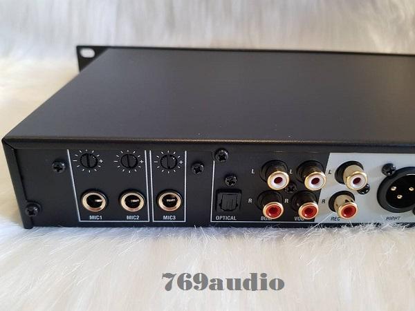 phần mềm mixer JBL KX 180 có các ngõ đầy đủ