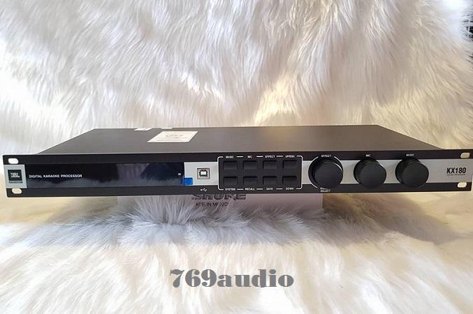 phần mềm vang số JBL KX180