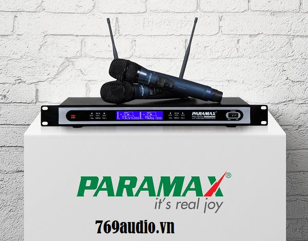 micro không dây paramax 8000