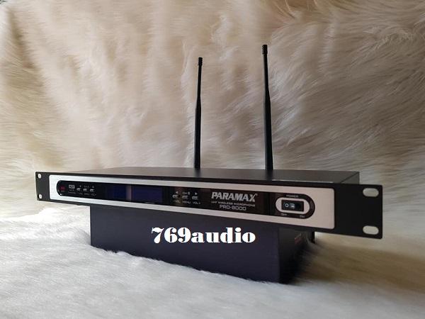micro paramax pro 8000 new
