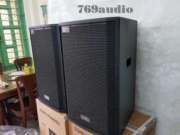 mặt bên Loa Karaoke Soundking SX 112F