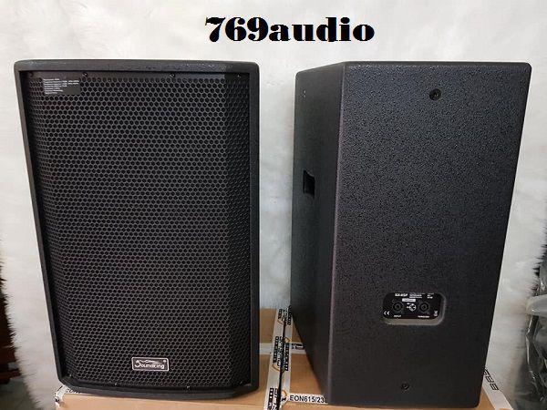 Trước và sau Loa Karaoke Soundking SX 112F