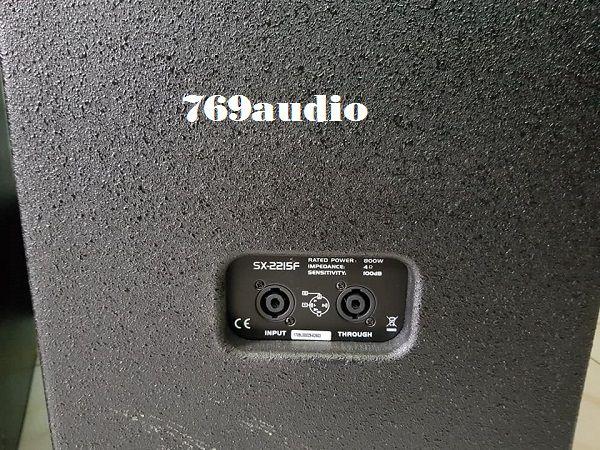 Mặt sau loa Soundking F2215