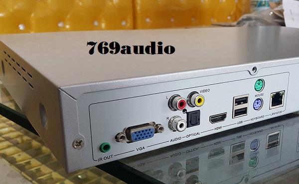 Mặt Sau Đầu Karaoke Việt KTV HD PLus 6TB