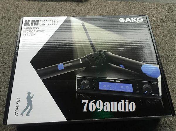 thùng micro AKG KM 200