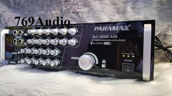 amply paramax sa 999 air