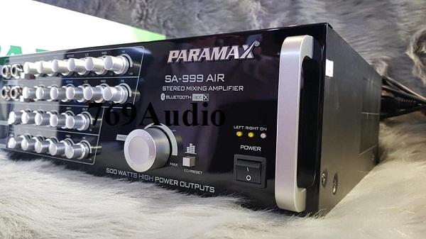 cách chỉnh ampli paramax 999 air