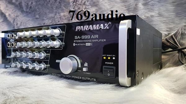 đánh giá ampli paramax sa 999 air