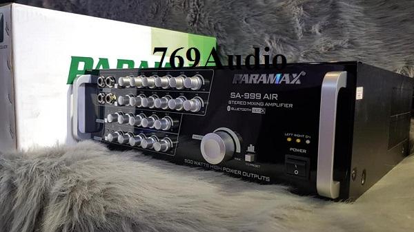 bán ampli paramax sa 999 air
