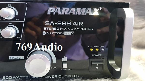 paramax sa 999 air