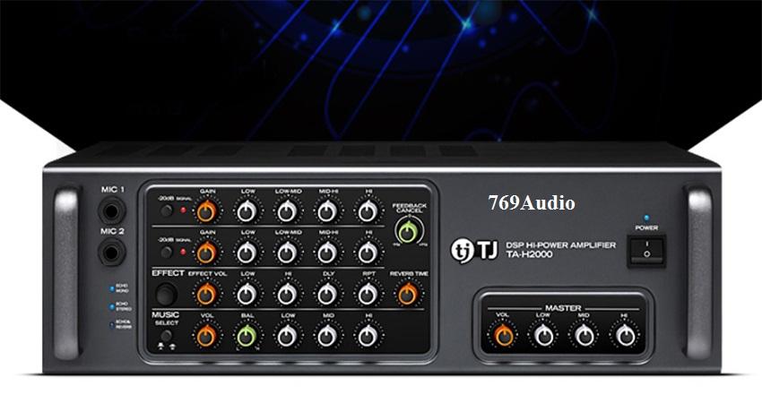 Amply karaoke TJ TA H2000 giá rẻ