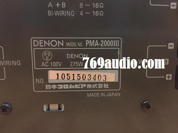 Amply Denon 2000 III