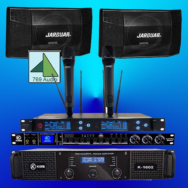 bộ dàn karaoke jarguar giá rẻ