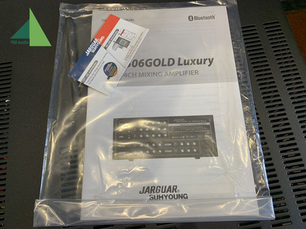 amply jarguar 506 gold luxury