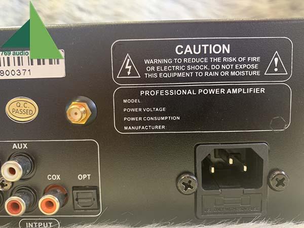 Đẩy liền vang BN Audio PA-6500 II