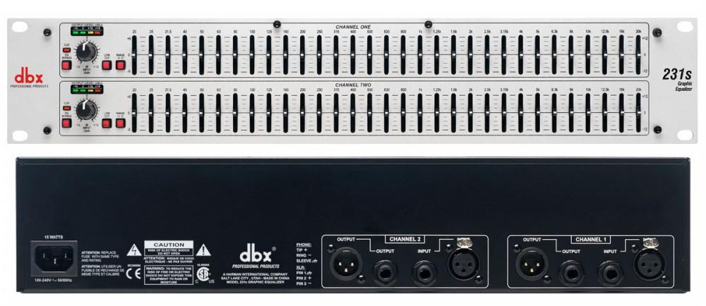 equalizer dbx 231