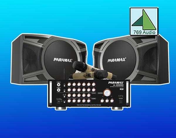 bộ dàn karaoke paramax cbc 2000